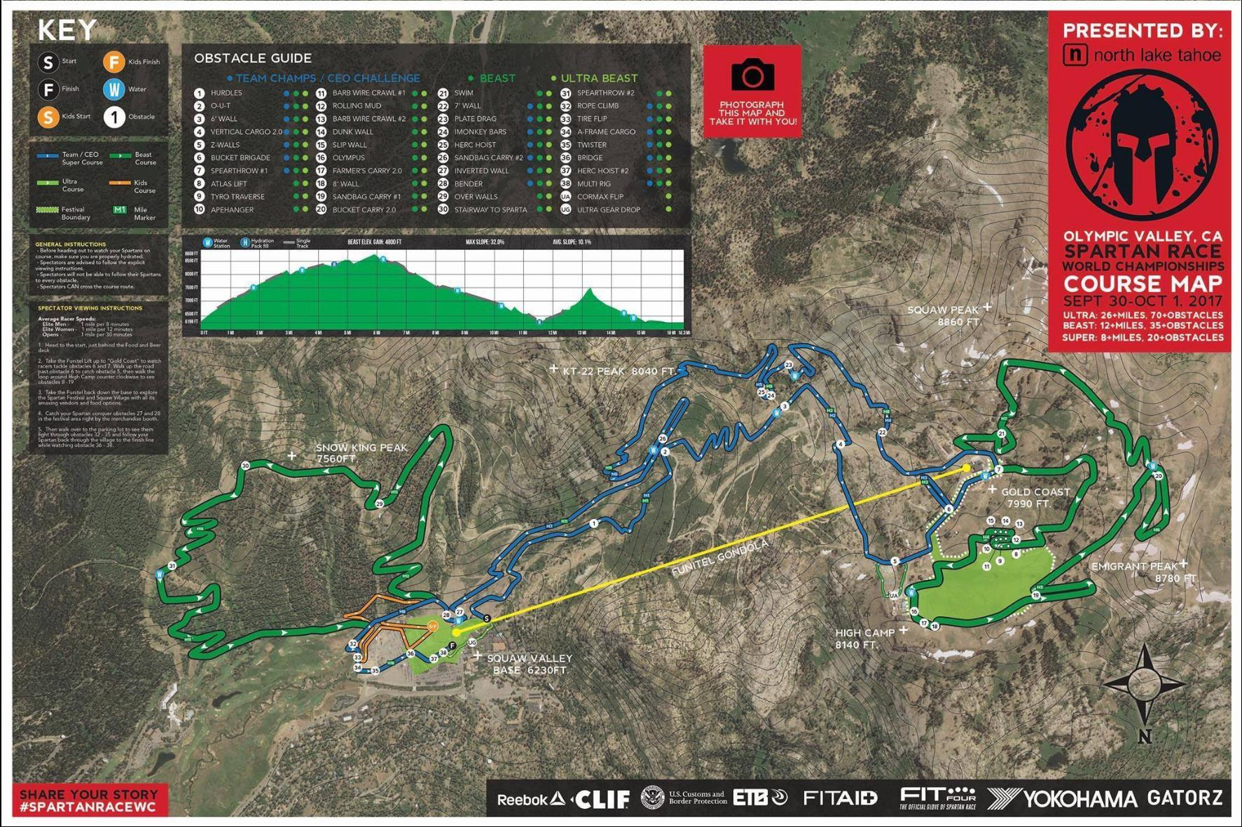 spartan race map