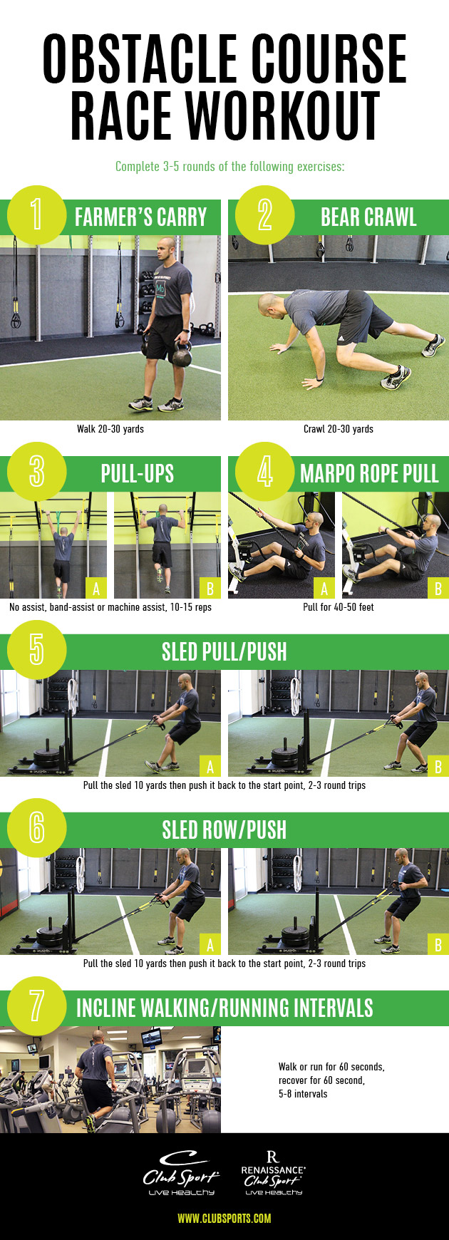 Obstacle Course Race Workout