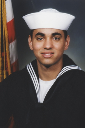 Andy Morales military portrait